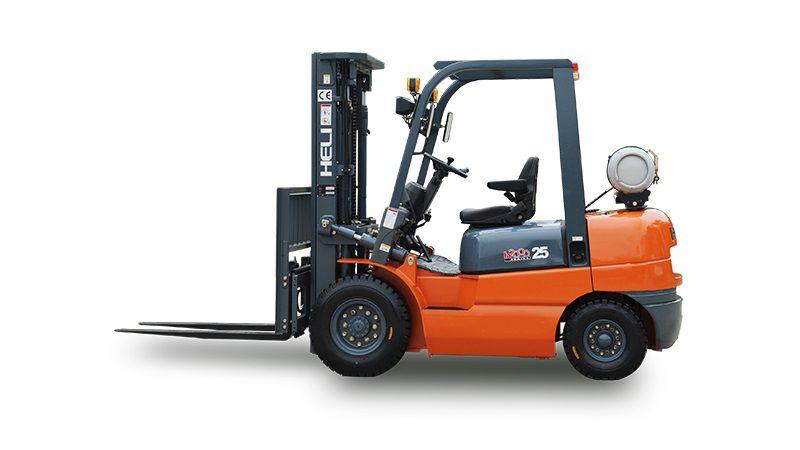 Xe Nâng Xăng (Ga) 2-3.5 Tấn Heli H2000 Series