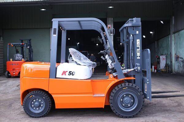 Xe Nâng Dầu 5 Tấn Heli K2 Series