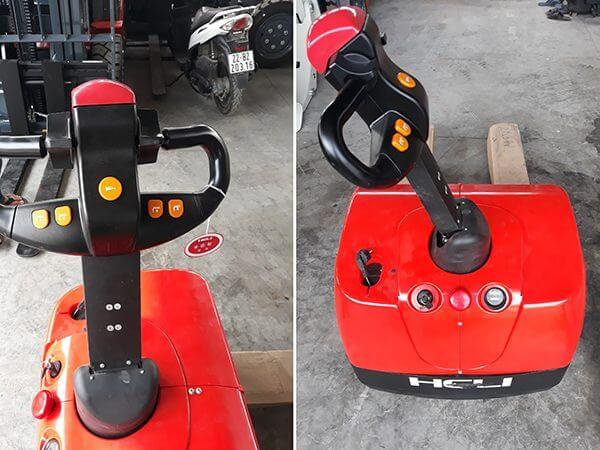 Xe nâng tay điện 1.5 tấn heli cbd15-610 chính hãng