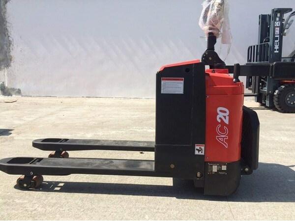 xe nâng tay điện 2 tấn heli cbd20-410 chính hãng