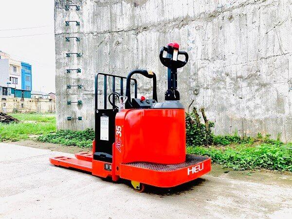 bệ đứng xe nâng tay điện heli cbd35-510