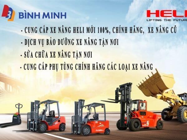 Xe nâng HELI Bình Minh