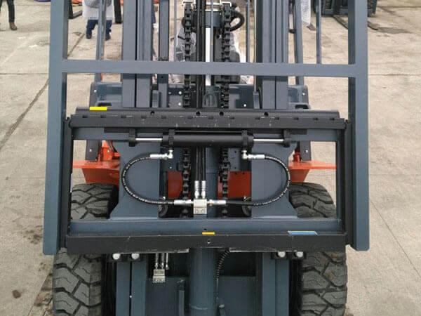 Xe nâng heli lắp bộ dịch giá side shifter