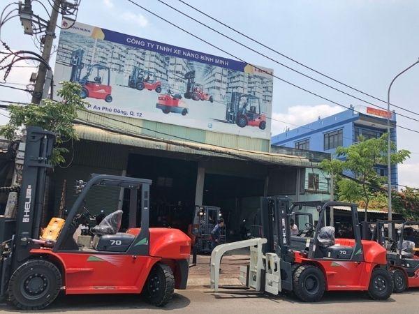 Bình Minh thương hiệu xe nâng số 1 tại Việt Nam