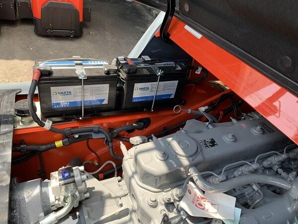 động cơ xe nâng dầu 7 tấn heli g series