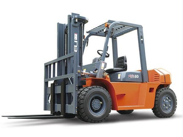 xe nâng dầu 8 tấn heli h2000 series