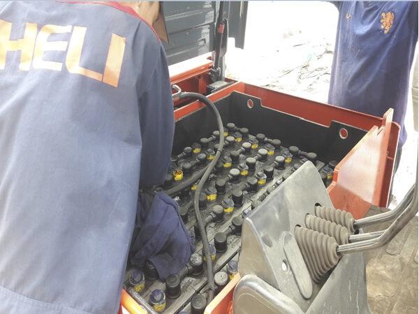 sửa chữa xe nâng điện 2 tấn heli g series