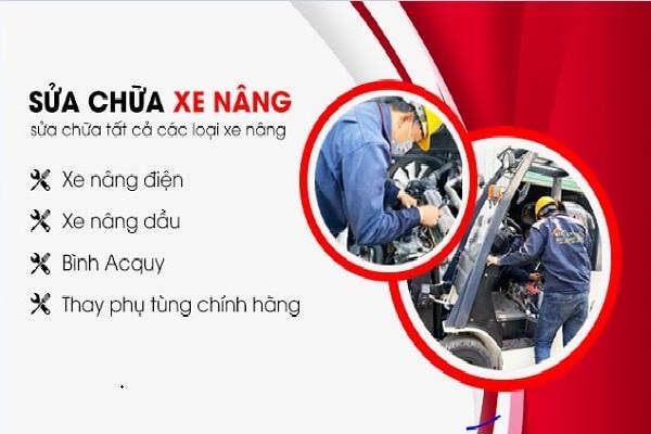 Dịch vụ sửa chữa xe nâng heli